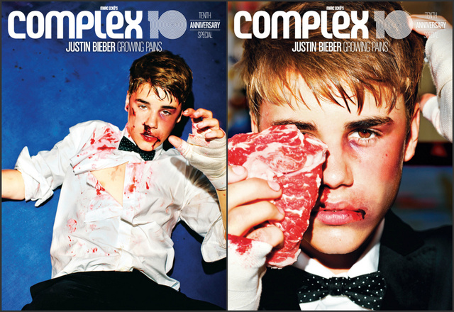 Justin Bieber a Complex Magazinban