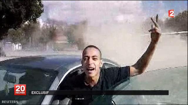 A France 2 csatorna állítasa szerint dátum nélküli felvételükön Mohamed Merah látható