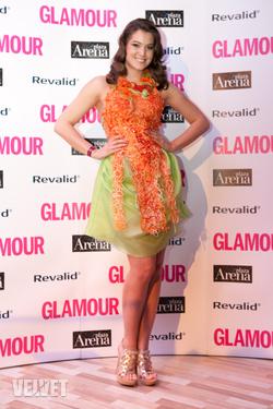 Szunai Linda a Glamour Women of the Year gálán