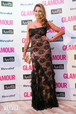 Horváth Éva a Glamour Women of the Year gálán