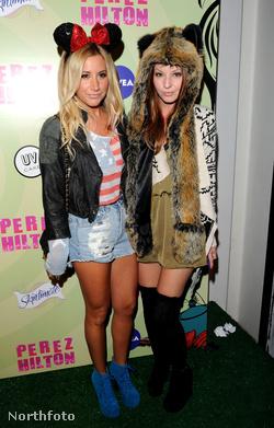5. és 6. jó nő: Ashley Tisdale (sorozatszínésznő és énekes) és Samantha Droke (csak sorozatszínésznő)