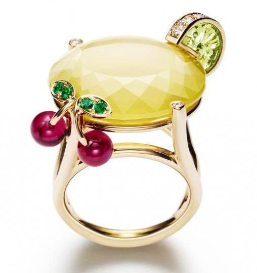 Piaget koktélgyűrű
