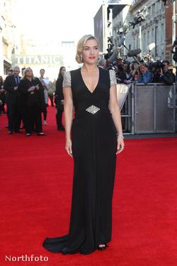 2012. március 27. - Kate Winslet a Titanic 3D világpremierjén Londonban, a Royal Albert Hall előtt