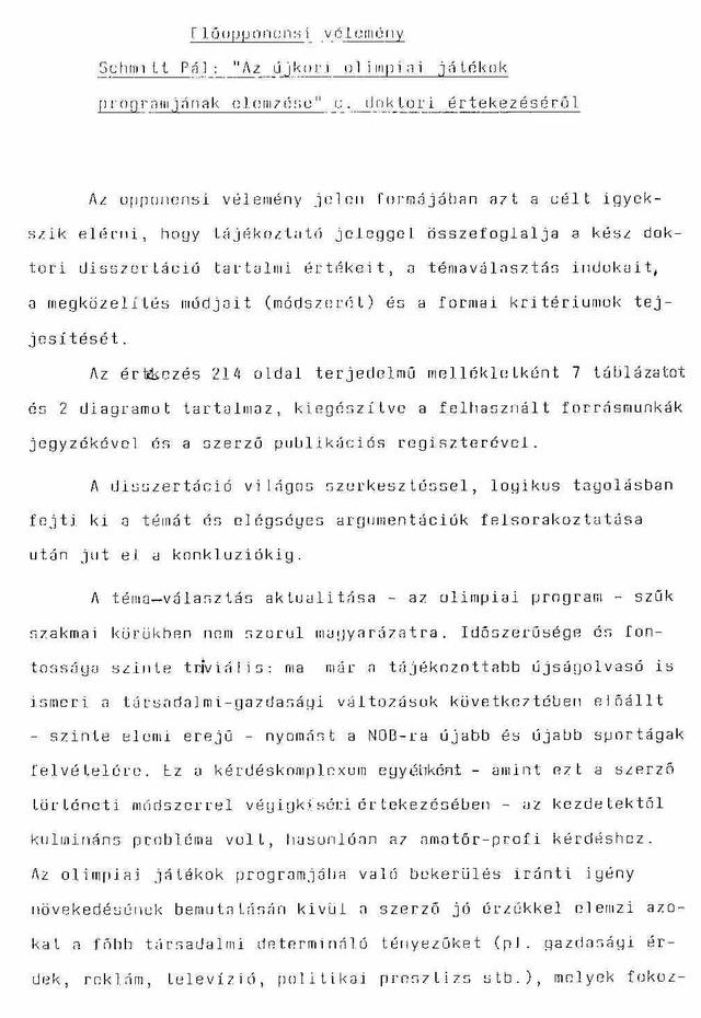 eloopponensi velemeny Schmitt