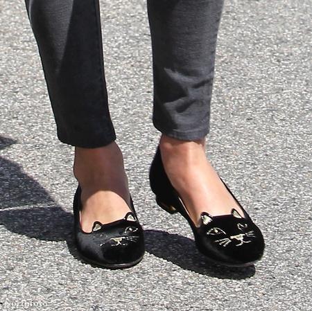 Ilyen a cipője