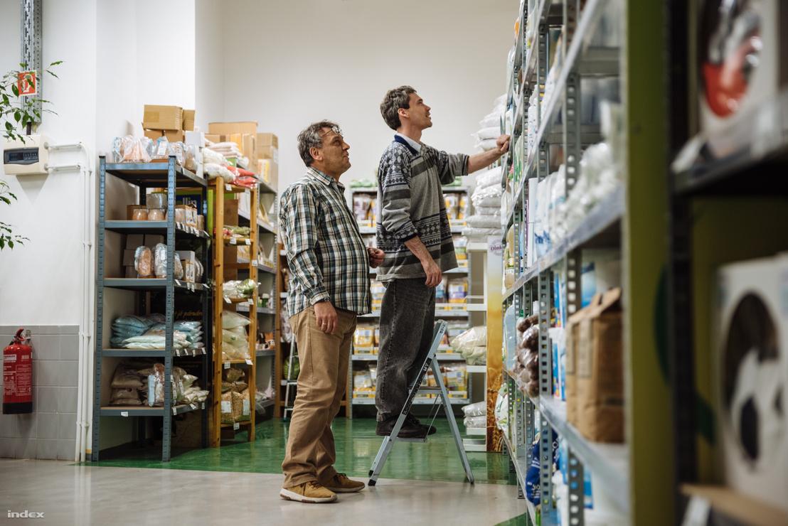 Megváltozott munkaképességű kliens betanítása árufeltöltőnek az első napon