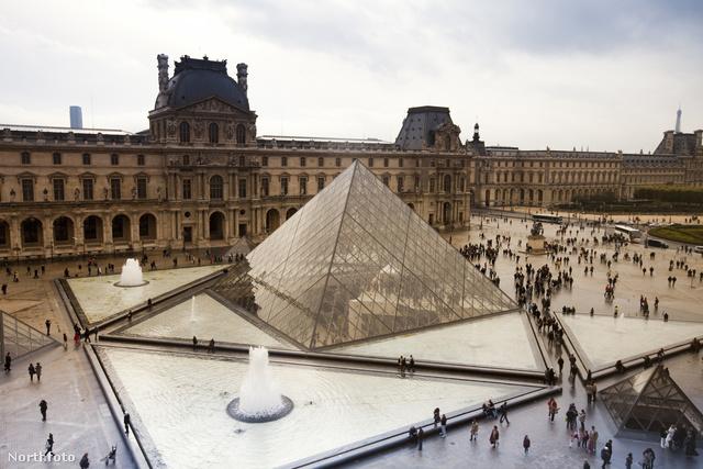 A Louvre Párizsban