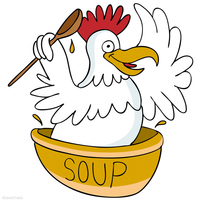 stockfresh 346445 chicken-soup sizeM