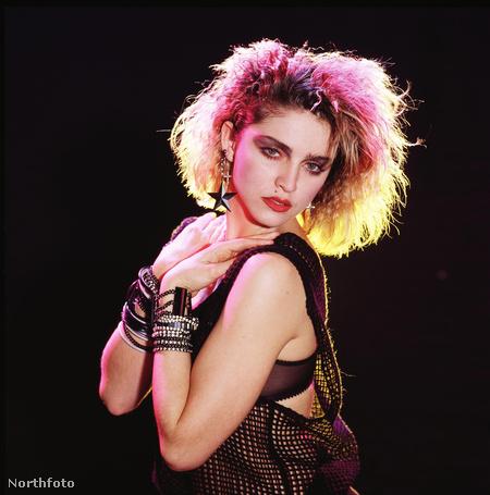 Madonna, amikor még nagyon távol volt ettől a problémakörtől