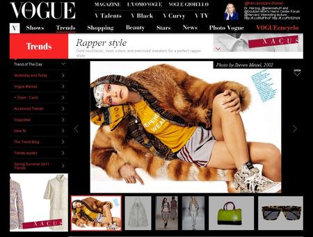 Katt a Vogue összeállításáért!