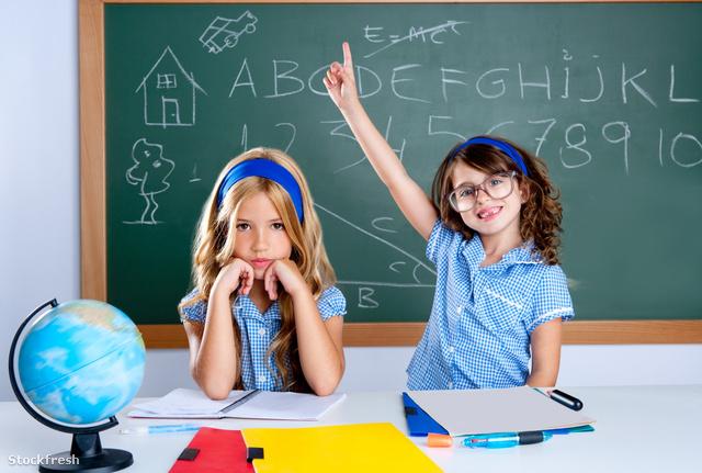 stockfresh 1098746 clever-nerd-student-girl-in-classroom-raising