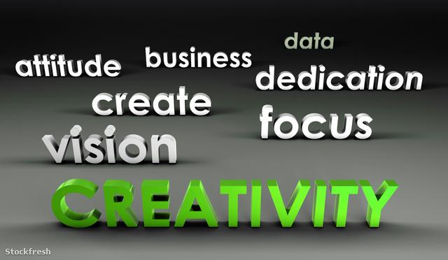 A kreativitás színe a zöld - állítólag