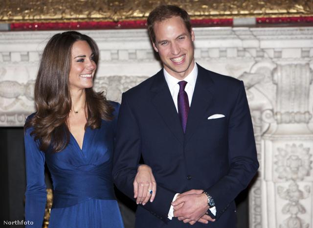 Kate Middleton eljegyzési ruhája
