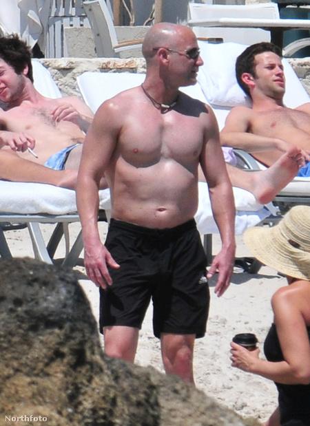Andre Agassi Miamiben strandol Steffi Graffal