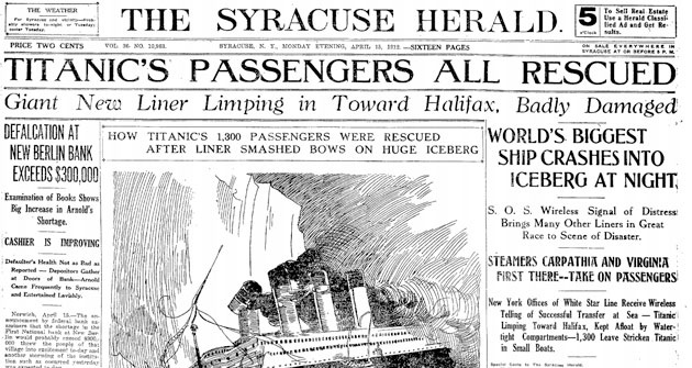 Volt olyan lap, ami a tragédia másnapján először azt írta meg, hogy minden utas megmenekült.