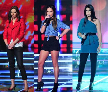 A Megasztár 6 női egy képen: mint egy középkategóriás ruházati bolt katalógusa.