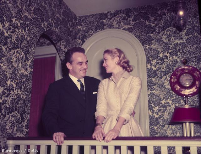 Rainer herceg és Grace Kelly