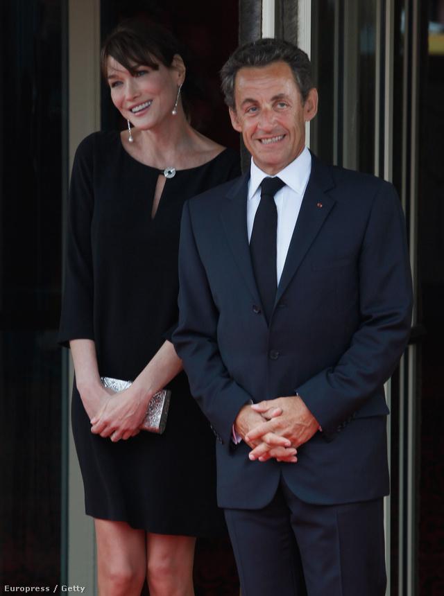 Nicholas Sarkozy és Carla Bruni