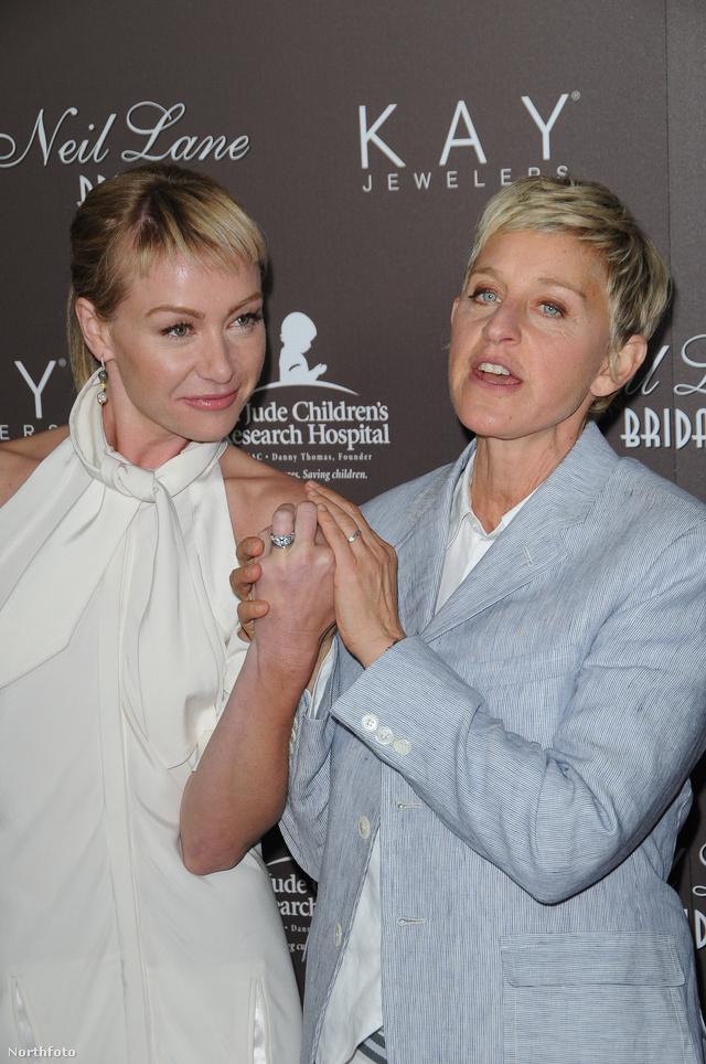 Ellen DeGeneres és menyasszonya