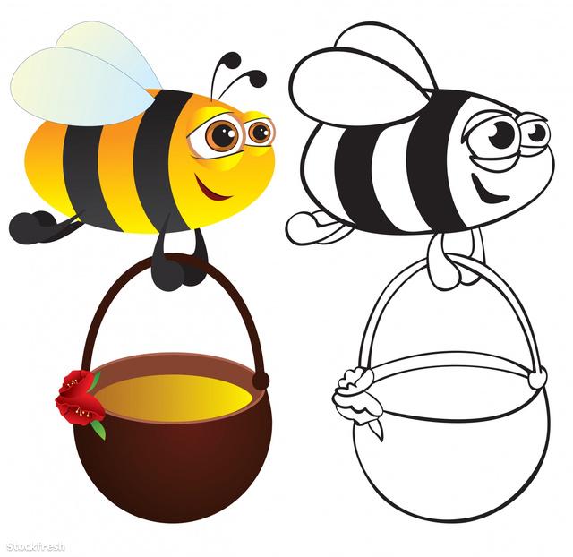 stockfresh 827183 bee-with-honey sizeM