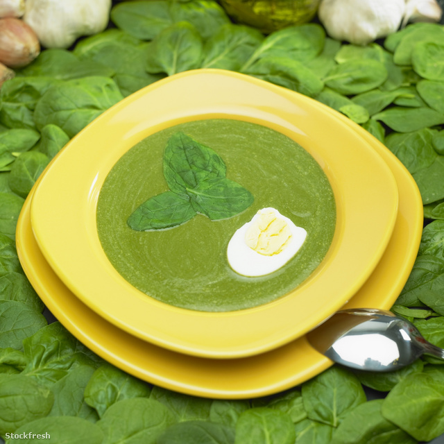 stockfresh 594449 cream-spinach-soup sizeM