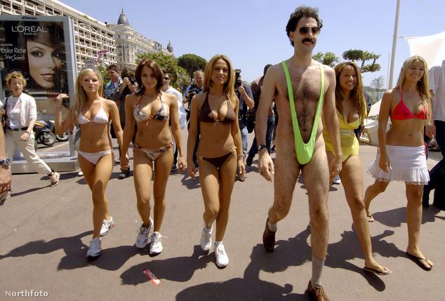 Borat Cannes-ban