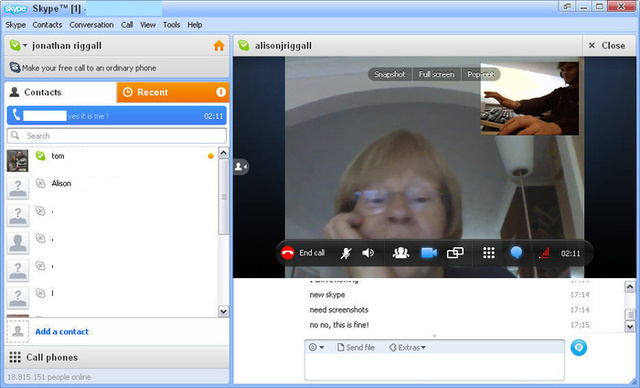 Skype PC-n