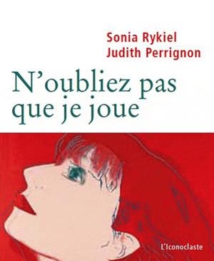 Sonia Rykiel könyvborítója