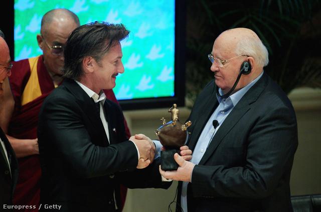 Penn és Gorbacsov