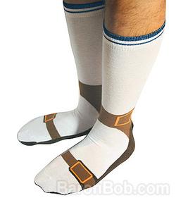 sock-sandals