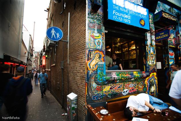 The Bulldog - Amszterdam első coffeshopja