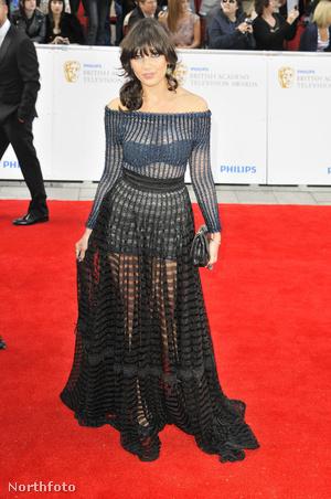 Daisy Lowe - A 2011-es Philips British Academy Television Awards (Ruha: Craig Lawrence)