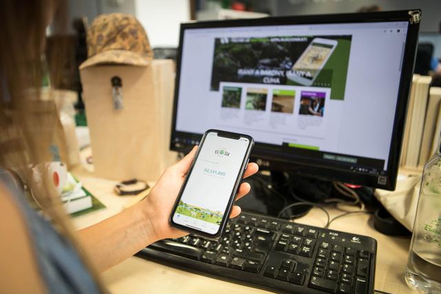 Az Ecosia nevű kereső segítségével fákat ültethet.