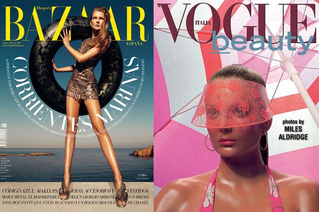 Mihalik Enikő nyári címlapjai