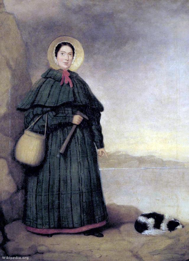 Mary AnningA 19. század első felében élt őslénykutató, Mary Anning az általa felfedezett dinoszaurusz leletekről vált ismertté, amelyek megkönnyítették a paleontológia korai fejlődését. Ásatásai számos brit kutató munkáját segítették azáltal, hogy esélyük nyílt feltérképezni a földtörténet egy jelentős szakaszát. Egyes tudósok úgy gondolják, hogy Anning leletei hozzájárultak Charles Darwin evolúció elméletének kidolgozásához.
