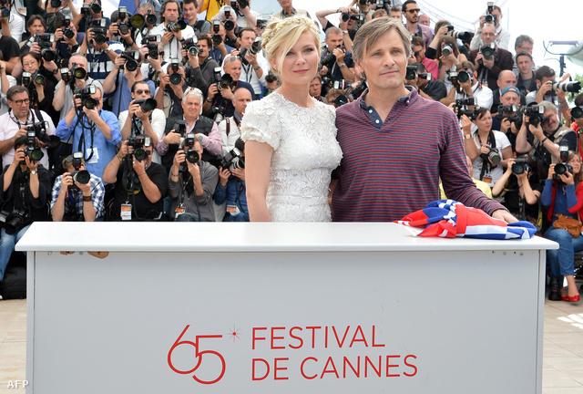 Kristen Dunst és Viggo Mortensen