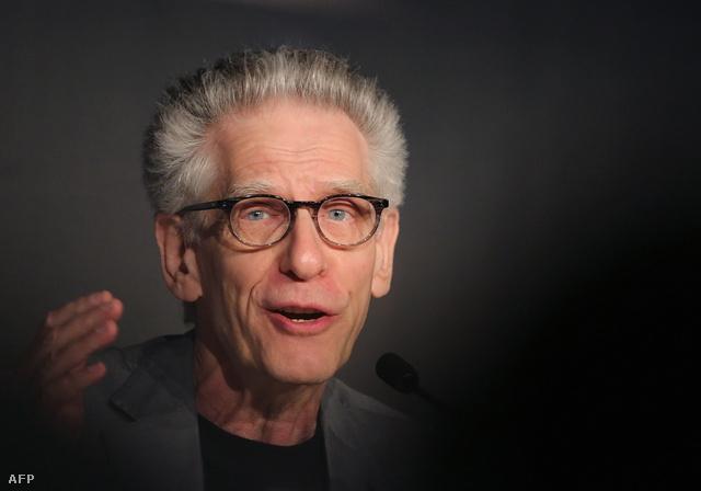 David Cronenberg sajtótájékoztatót tart