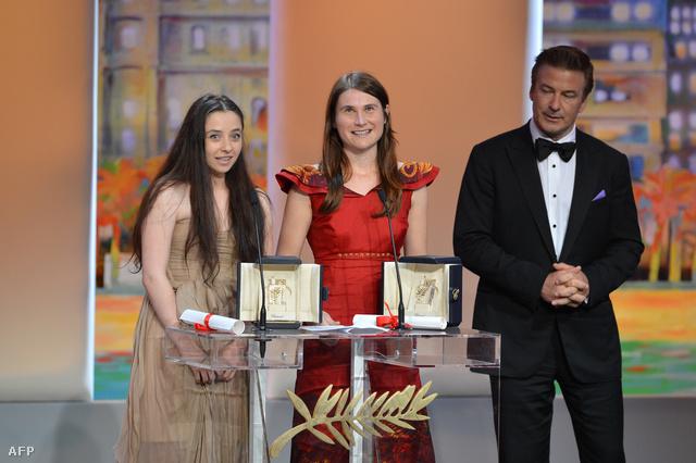 Cosmina Stratan, Cristina Flutur és Alec Baldwin