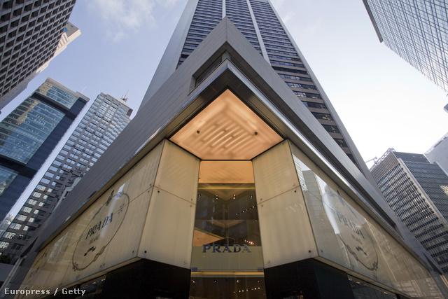 Prada üzlet Hong Kongban