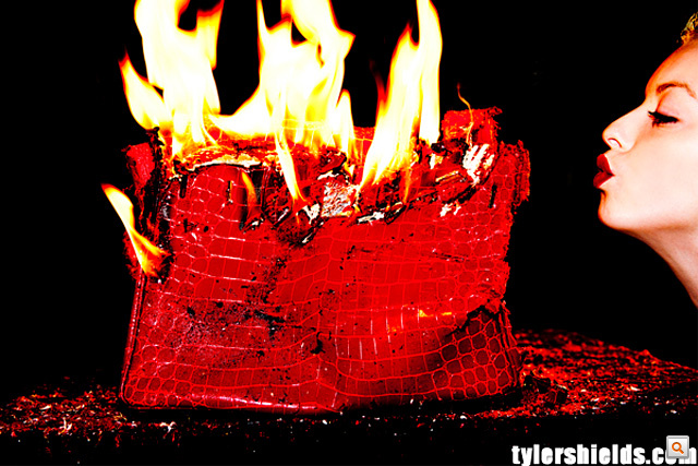'Burning Man Birkin' project