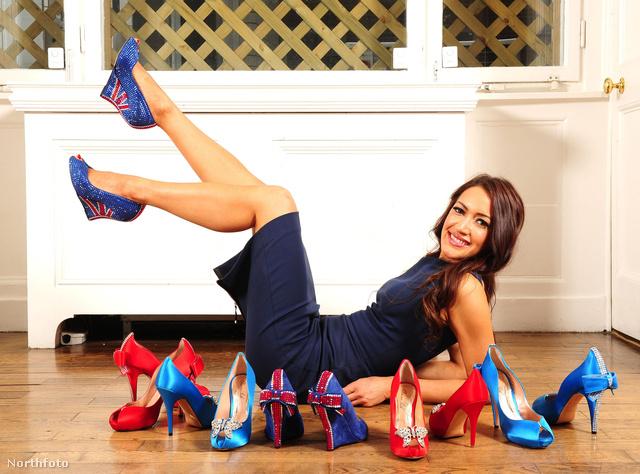 Aruna Seth cipőtervező sem akart lemaradni a gyémántjubileumról