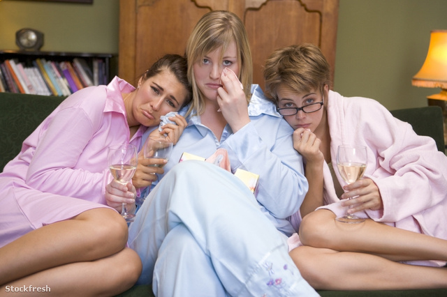 stockfresh id85456 three-young-women-crying-together-in-their-py