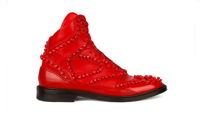 Givenchy Hightop Hybrid cipő 2012 őszére