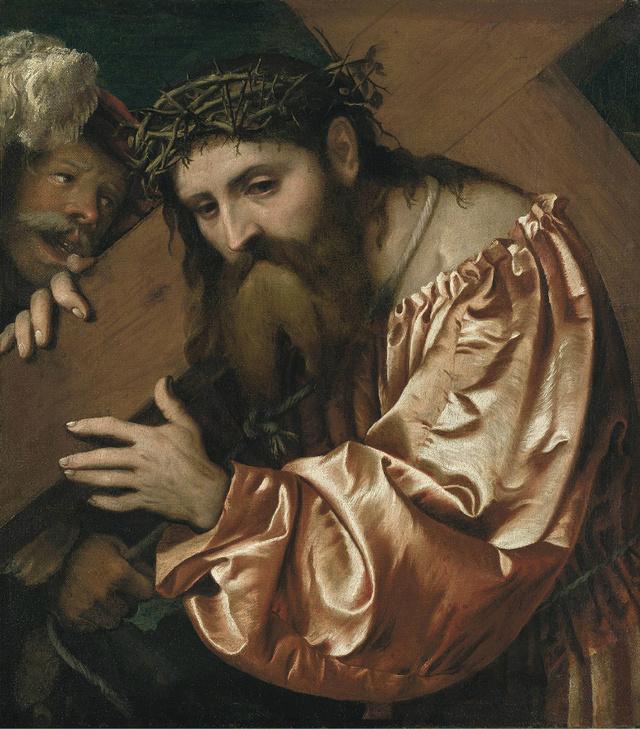 Girolamo Romanino: Keresztvivő Krisztus