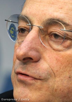 Mario Draghi, az Európai Központi Bank elnöke