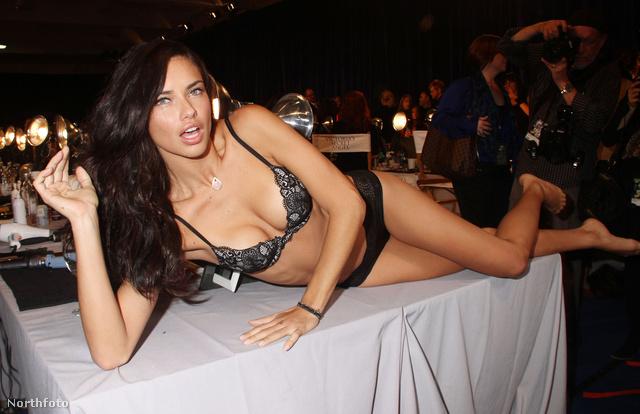 4. Adriana Lima - 7,3 millió dollár (kb. 1,7 milliárd forint)