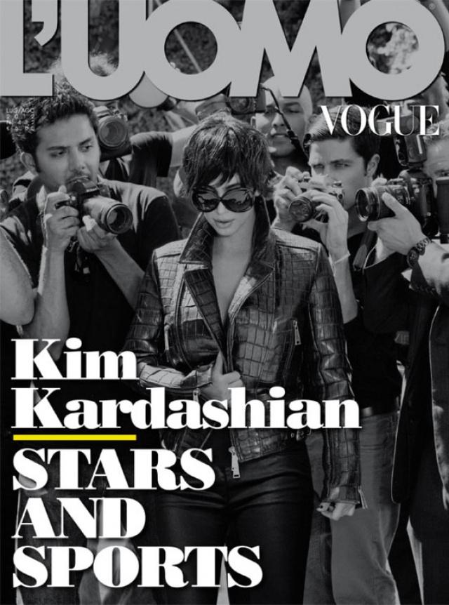 Kim Kardashian első Vogue címlapja