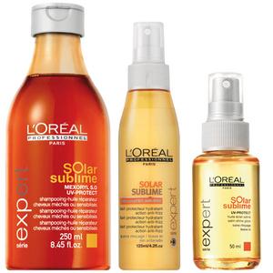 L'Oréal Solar Sublime: Alaposan felkészültek a nyári hajápolása a francia cégnél.