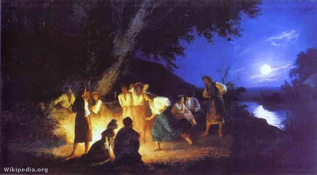 Henryk Hector Siemiradzki: Ivan Kupala éjszakája