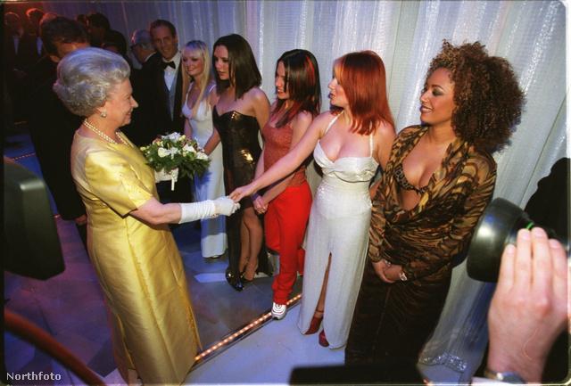 A Spice Girls és II. Erzsébet királyné